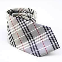 Etiqueta privada para hombre por encargo Jacquard tejida por mayor seda corbatas