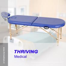 Tabela de madeira portátil da massagem da faia da alta qualidade (THR-WT002F)