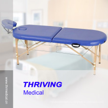 Высококачественный деревянный массажный стол из бука (THR-WT002F)