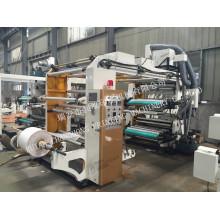 Máquina de impressão de sacos não tecidos de 4 cores tipografia