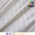 black white stripe organza fabric