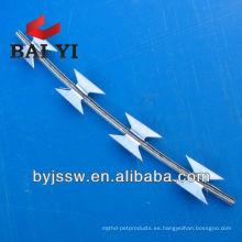 RBT recubierto de PVC y galvanizado