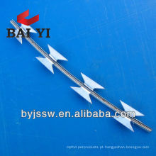 RBT galvanizado e revestido de PVC