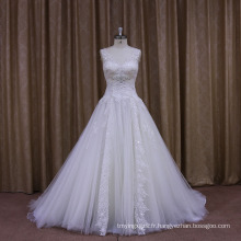 Sparkle Bow Sexy Halter Sweetheart robe de mariée