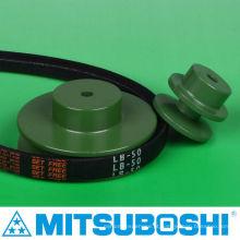 Polia durável de cinto v vendedora mais vendida para correia temporizada, plana, redonda e cinto V. Fabricado por Mitsuboshi Belting e NBK. Feito no Japão