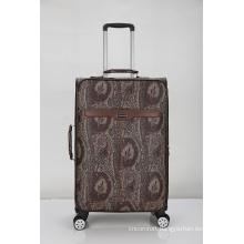 PU leather soft vintage luggage