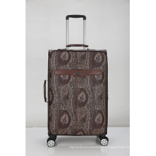 PU leather soft vintage luggage