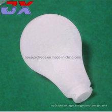 CNC Plastic Machining Light Bulb/Rapid Prototypes