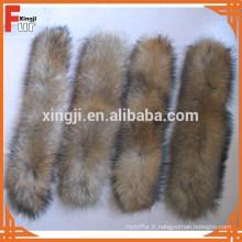 Chine fabricant naturel garniture de fourrure de raton laveur