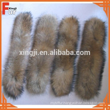 China Manufacturer Natural Raccoon Fur Trimming