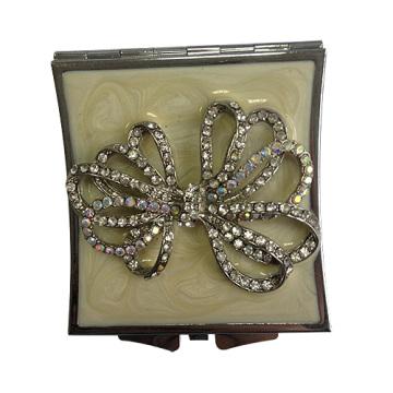 Кристалл лента компактные зеркала 7 см круглый