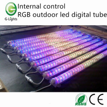 Control interno RGB tubo digital led al aire libre