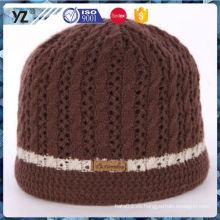 Nuevo producto de larga duración último diseño de punto sombrero hecho en China