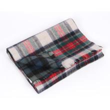 Écharpe en laine d'alpaga à la mode de haute qualité en plaid