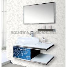 Armários de banheiro com paredes pendentes Armários de banheiro de boa qualidade