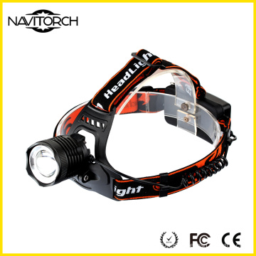 Zoomable Focusing Rechargeable Aluminium Alloy Headlamp (NK-505)