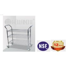 NSF Anti-Static ESD Rolling Industrial Metal Utility Cart Trolley (CJ-A1195)