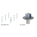 Schnellmontagesolar-Bodenbefestigungssystem mit Erdungsschraube
