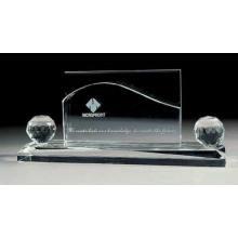 Material de oficina Papelería Crystal Name Card Holder 2015 Nuevo diseño