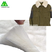 Guata / bateo de lana merina de calidad superior de fábrica para la ropa