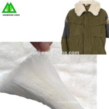 Ouate de laine mérinos de qualité supérieure d'usine / bâton pour le vêtement