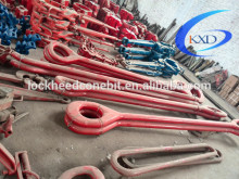 Drilling equipment spare parts of single arm elevator links