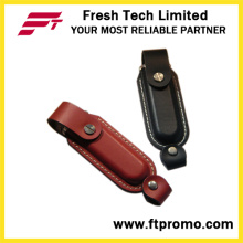 Classic Promotional Leather USB Flash Drive (D503)
