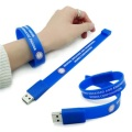 Silicone Bracelet Wrist Band Usb Flash Drive