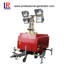 Mobile Lighting Tower, 4*1000W Generator Light Tower