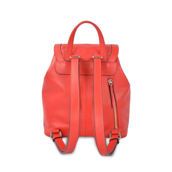 Genuine Drawstring Leather Backpack