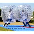 Nova forma de design bola de bolha inflável barriga / corpo bola de bolha de zorbing para diversão