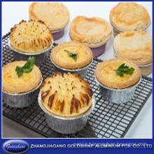 Round Household Aluminum Egg Tart Pan