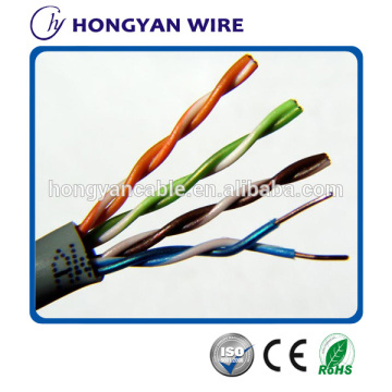 UTP Cat5e lan cable 2 pares utp cat5e cable