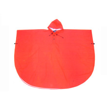 Children Red PVC Rain Poncho