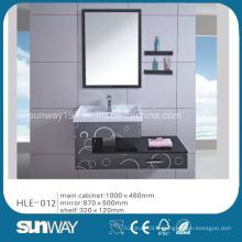 Cabinet en acier inoxydable à miroir miroir avec certificat