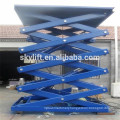 stationary hydraulic dumbwaiter scissor lift tables