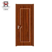 Chinese safety iron main door design craft pvc interior door with heat insulation