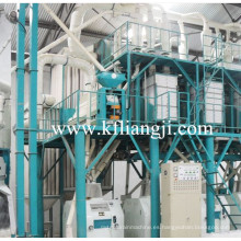 Maquinaria de molienda de harina de trigo de 80 toneladas, planta de molinería de harina, línea de producción de harina de trigo