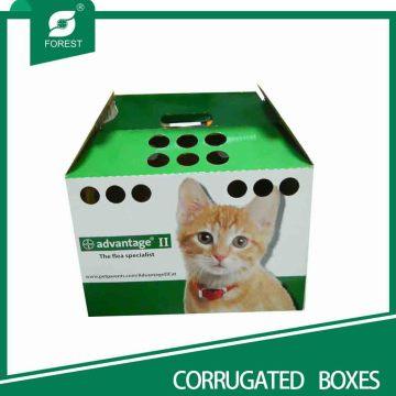 Caixas de casa personalizadas do gato