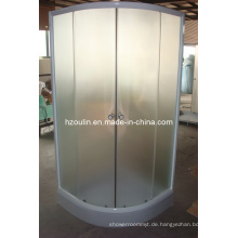 Duschraum mit weißem Aluminium (E-01White)