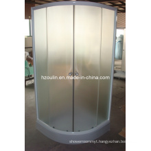 Shower Room with White Aluminum (E-01White)