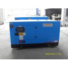 Kusing 15kVA Diesel Genrator tipo silencioso cor azul