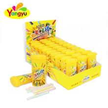 CC Stick Supplier Sweet And Sour Fruity Flavor Short CC Stick Candy