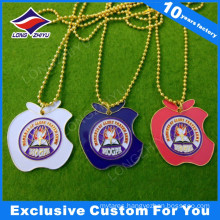 Gold Plated Custom Business Gift Dog Tag Colorful Enamel Metal Dog Tags