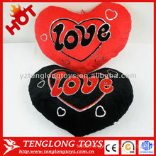 Hot Sale Welcomed Heart Shaped Plush Pillow
