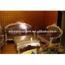 Деревянная антикварная мебель диван A10096