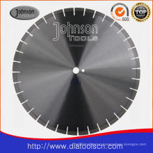 Blade: Laser welded silent saw blade:600mm