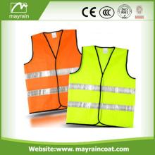 Benutzerdefinierte Polyester Sommer reflektierende Sicherheitsweste