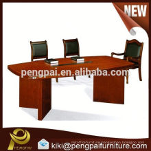 latest design single level office meeting table/modern conference table for 6 persons