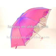 Einzigartige Sonne und Regen Regenschirm